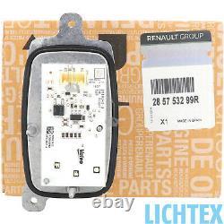 Renault LED 285753299R Tagfahrlicht Modul rechts Valeo Scheinwerfer Steuergerät