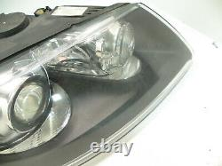 VW Touareg Bi-Xenon AFS Headlight Headlamp Black 7L6941016AS RIGHT OFF-SIDE UK