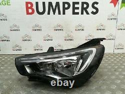 Vauxhall Grandland X 2017 -on Genuine Passengers Left Lh Led Drl Head Light Lamp