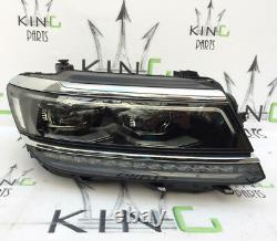 Vw Tiguan 5n 2016- 2018 Complete Headlight Full Led Xenon Right Side 5nc941082 D