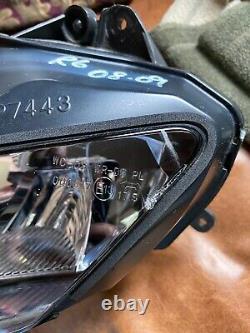 Yamaha R6 HEADLIGHT HEADLAMP LIGHTS 08 09 10 11 12 13 14 15 ORIGINAL OEM GENUINE